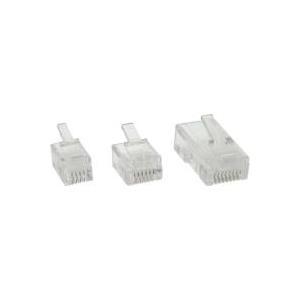 InLine - Netzwerkanschluss - RJ-45 (S) - UTP (Packung mit 100) (73098)