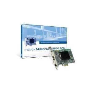 Grafikkarten - Matrox Millennium G550 PCIe Grafikkarten MGA G550 32MB PCIe (G55 MDDE32F)  - Onlineshop JACOB Elektronik