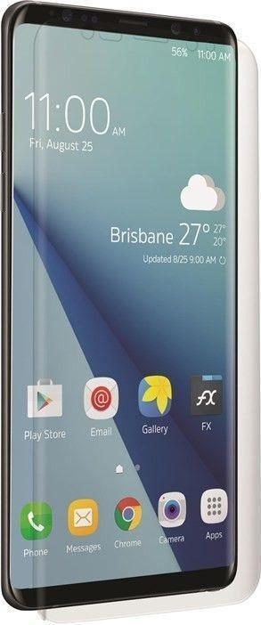 Image of 3SIXT 39606 Red Screen Protector (3S-1399) - transparent - Hanging Box - suitable for Samsung Galaxy S10 Plus Klare Bildschirmschutzfolie Handy/Smartphone 2 Stück(e) (39606)