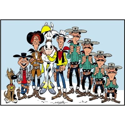 Spirit Media Lucky Luke (DC6200920) (Bild #2)