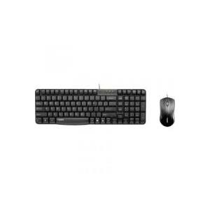 Rapoo N1850 Tastatur-Set schwarz - broschei