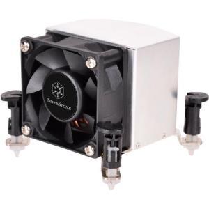 SilverStone Argon Series AR09-115XP - Prozessorkühler - (LGA1156 Socket, LGA1155 Socket, LGA1150 Socket, LGA1151 Socket) - Aluminium und Kupfer - 60 mm (SST-AR09-115XP)