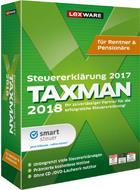 Lexware Taxman 2018 für Rentner + Pensionäre, Minibox - broschei