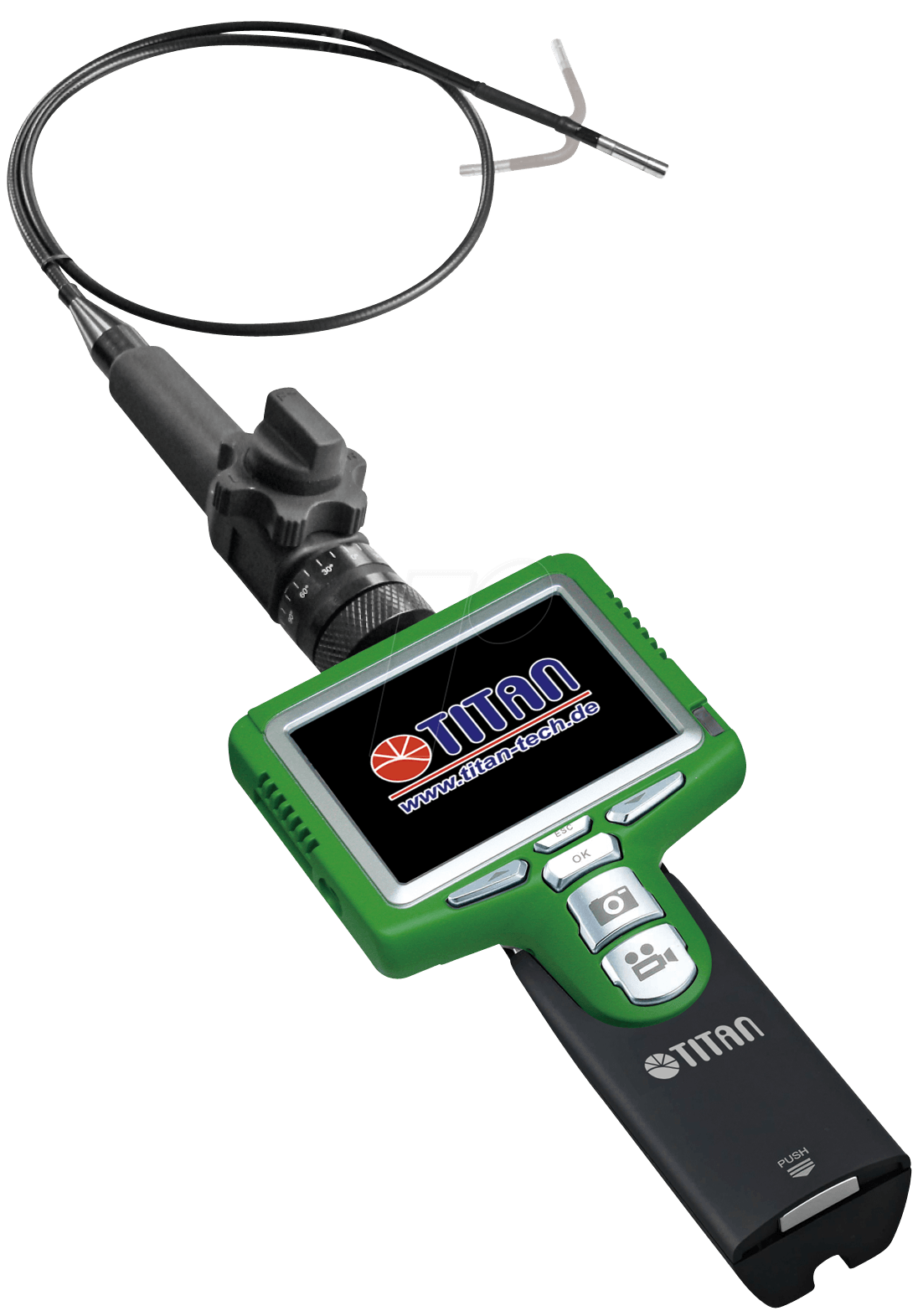 TITAN ENDO S06-5.8 270 - Digital Endoskop, schwenkbarer Kamerakopf (TTS-S06-5.8 270°)