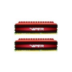 Arbeitsspeicher - Patriot Extreme Performance Viper 4 Series DDR4 16 GB 2 x 8 GB DIMM 288 PIN 3400 MHz PC4 27200 CL16 1.35 V ungepuffert non ECC Schwarz Rot  - Onlineshop JACOB Elektronik