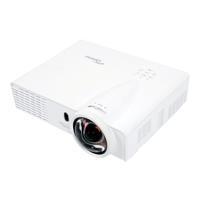 Optoma DLP Beamer GT760 Helligkeit: 3400 lm 1280 x 800 WXGA 20000 : 1 Weiß - broschei