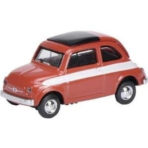 Schuco Fiat 500 Rallye Vormontiert Oldtimer-Mod...
