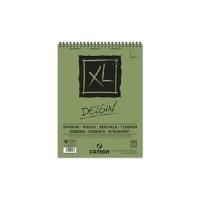 CANSON Skizzen- und Studienblock XL Zeichnen, DIN A4 50 Blatt, 160 g/qm, 210 x 297 mm, Block mit Kopfspirale, - 1 Stück (400039088)
