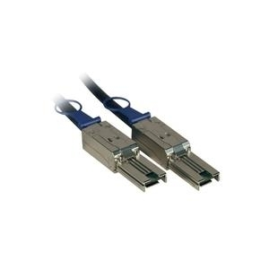 Fujitsu - Angeschlossenes externes SCSI (SAS)-Kabel (seriell) - 4x Shielded Mini MultiLane SAS (SFF-8088), 26-polig - 4x Shielded Mini MultiLane SAS (SFF-8088), 26-polig - 5,0m - für Scalar i500, ETERNUS LT40, LT60, FibreCAT TX24 S2, TX48 S2, Scalar
