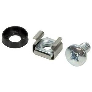 Logilink 48,30cm (19) Accessories: Mounting Set, 20 pcs, silver (AC0111)