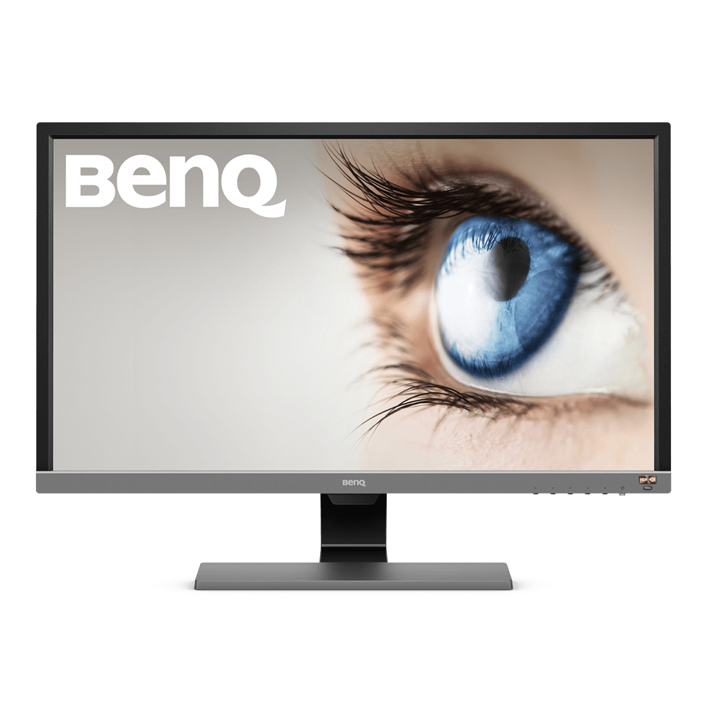 BenQ EL2870U - LED-Monitor - 70.9 cm (27.9) - 3840 x 2160 4K UHD (2160p) - TN - 300 cd/m² - 1000:1 - 1 ms - 2xHDMI, DisplayPort - Lautsprecher - Metallisch-Grau