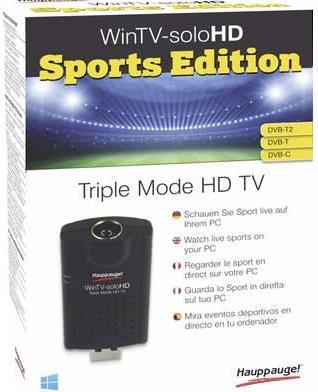 Hauppauge TV-Stick WinTV-soloHD Sports Edition ...