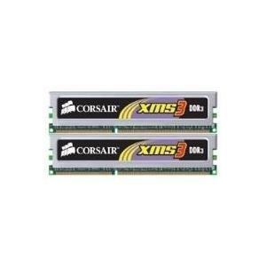 Corsair XMS3 - Memory - 4 GB : 2 x 2 GB - DIMM 240-PIN - DDR3 - 1333 MHz / PC3-10666 - CL9 - ungepuffert - nicht-ECC (TW3X4G1333C9A)