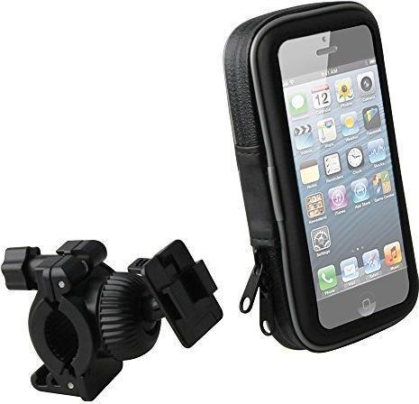 Muvit Wasserdichte Universal-Fahrradhalterung für Smartphones bis 4.7 (MUCHL0026)
