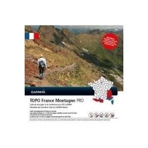 Garmin TOPO France Montagne PRO - Karten - für Edge 1000, 810, Touring, eTrex 20, 30, GPSMAP 62, 64, Montana 600, Monterra, Oregon 650 (010-12211-00)