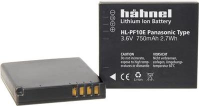 Hähnel HL-PF10E - Kamerabatterie Li-Ion 750 mAh