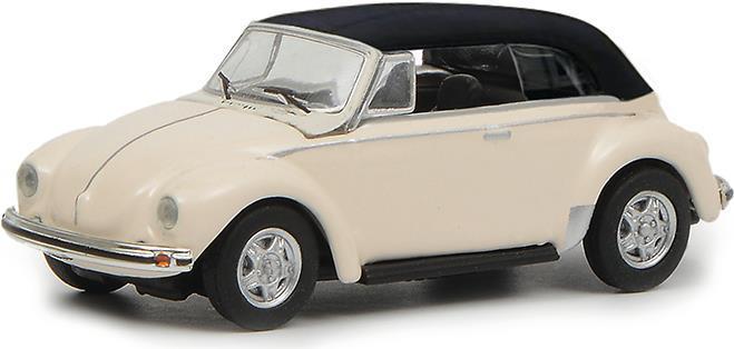 Schuco VW Käfer Cabrio Vormontiert Oldtimer-Modell 1:87 (452633500)