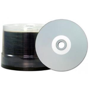 Taiyo Yuden CD-R 80 Taiyo (JVC) 48x Inkjet silv...