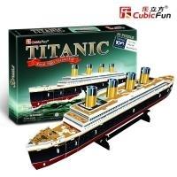 Titanic 3D PUZZLE Cubicfun Maly