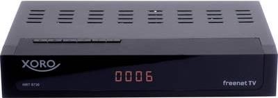 TV, SAT Receiver - Xoro DVB T T2 C Kombo Receiver HRT 8730 Hybrid Aufnahmefunktion, Deutscher DVB T2 Standard (H.265), freenet TV Entschlüs (HRT 8730 Hybrid)  - Onlineshop JACOB Elektronik
