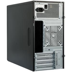 Chieftec Mesh Series XT-01B - Mini Tower - micro ATX 350 Watt (ATX12V 2.3/ PS/2) - USB/Audio