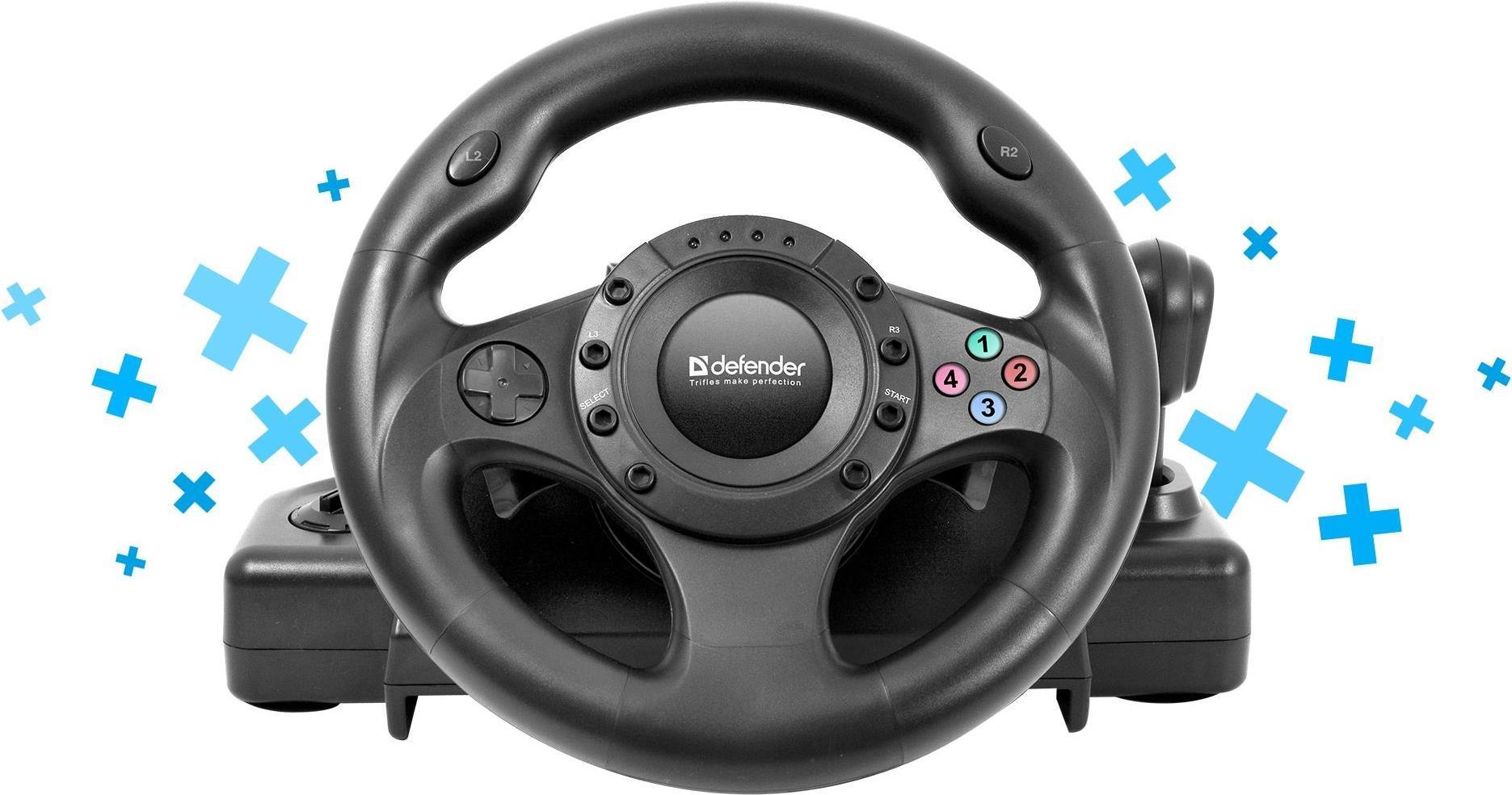 DEFENDER Gaming wheel FORSAGE DRIFT GT USB-PS2-...