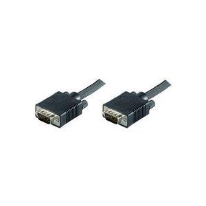 Audiokabel, Videokabel - MicroConnect VGA Kabel HD 15 (VGA) (M) bis HD 15 (VGA) (M) 20 m Schwarz  - Onlineshop JACOB Elektronik