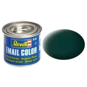 Revell Schwarzgrün - matt 14 ml-Dose Farbe Grün Kunstharz Emaillelackierung Zinn (32140)