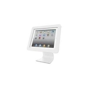 Compulocks iPad Secure Executive Enclosure with Rotating 360° Kiosk White - Aufstellung für Tablett - Aluminium - weiß - für Apple 9.7 iPad Pro, iPad, iPad 2, iPad Air, iPad Air 2, iPad with Retina display (AIO-W)