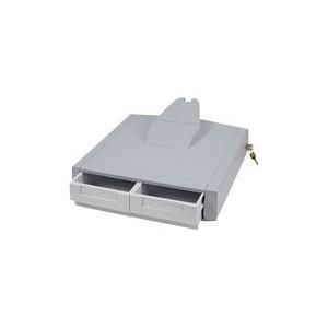 Ergotron StyleView Primary Storage Drawer, Double - Montagekomponente (Auszugsmodul) verriegelbar medizinisch Grau, weiß am Wagen montierbar (97-988) jetztbilligerkaufen