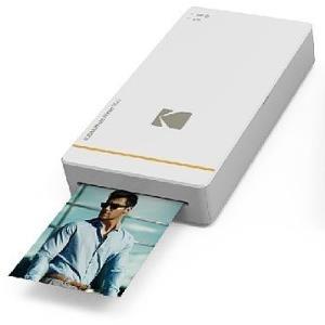 Drucker, Scanner - Kodak Photo Printer Mini PM 210 Drucker Farbe Thermosublimation 54 x 86 mm Wi Fi, NFC weiß (KPM 210W)  - Onlineshop JACOB Elektronik