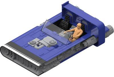 Revell 06769 Han´s Speeder Science Fiction Baus...