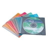 VALUE CD Hülle slim, schwarz, 5.2mm, 5er Pack (...