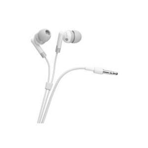 Wentronic Goobay In-Ear Kopfhörer, Weiß, 1.15 m - Basic Kopfhörer (42147)