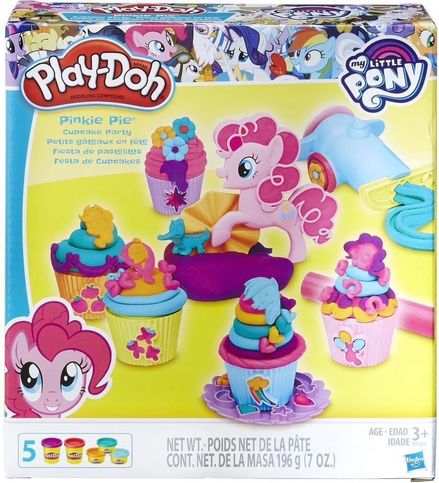 Hasbro Play-Doh My Little Pony Pinkie Pies Cupc...