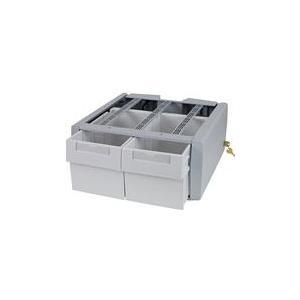 Ergotron StyleView SV43/44 Series Supplemental Double Tall - Montagekomponente (2 drawers module) verriegelbar medizinisch Grau, weiß am Wagen montierbar (97-984) jetztbilligerkaufen