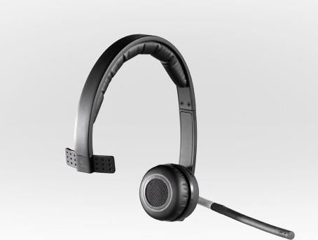 Logitech Wireless Headset Mono H820e (981-000512) (Bild #6)