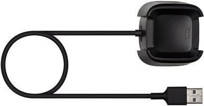 Fitbit - Kabel nur zum Laden - USB (nur Strom) (M) - 39.4 cm - für Fitbit Versa