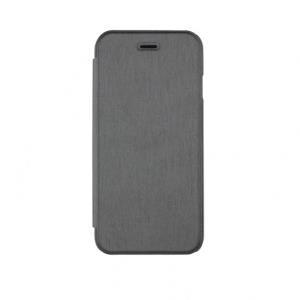 xqisit Folio Case Rana - Flip-Hülle für Mobiltelefon - Metallisch-Grau - für Apple iPhone 6 (18088)