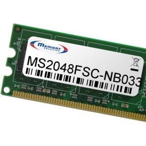 MemorySolutioN - DDR2 2GB SO DIMM 200-PIN 667 MHz / PC2-5300 für Fujitsu AMILO Pi 2550, 2550-12P, 2550-13P (FPCEM219AP, S26391-F668-L) - broschei