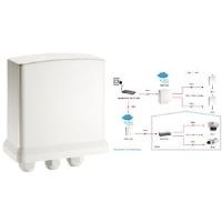 LevelOne POR-1100 Outdoor PoE Repeater - Repeater - 10Base-T, 100Base-TX - extern - bis zu 100 m (0552013)