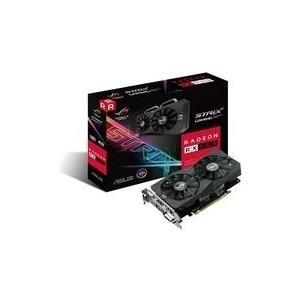 ASUS ROG-STRIX-RX560-4G-GAMING - Grafikkarten - Radeon RX 560 - 4GB GDDR5 - PCIe 3.0 x16 - DVI, HDMI, DisplayPort (90YV0AH1-M0NA00)