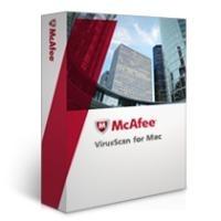 McAfee VirusScan for MAC (Virex) Int Perpetual+, Volllizenz inkl. 1 Jahr Goldsupport, Virenschutz für Mac-Clients auf Intel- und Power PC-Basis, ePO Integration, unterstützte Systeme: Apple, Macintosh OS X (Vers. 10.4.0 od. höher), G3, G4, G5, SMP,