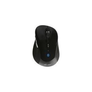 I-TEC Bluetooth Comfort Mouse bis 10m 1000/1600 DP 6-Tasten 1000/1600 DPI 1X AA Batterie ON/OFF-Taste, fuer Tablet Notebook PC (MWBT244)
