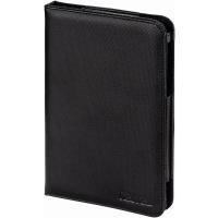 Hama Arezzo Portfolio - Flip-Hülle für Tablet - Polyurethan - Schwarz - für Samsung Galaxy Tab 3 (7 ) (00126732)