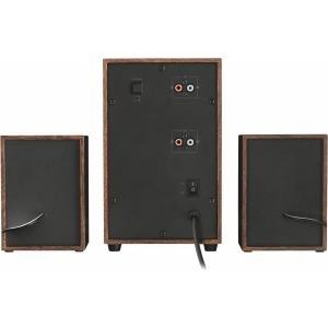 Trust Silva - Lautsprechersystem für PC 2.1-Kanal 16 Watt (Gesamt)