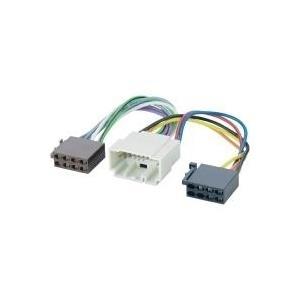 Brodit AIV Adapter cable ISO Head unit - Kabelbaum für Fahrzeugstrom/Lautsprecher - 20 cm (410993)