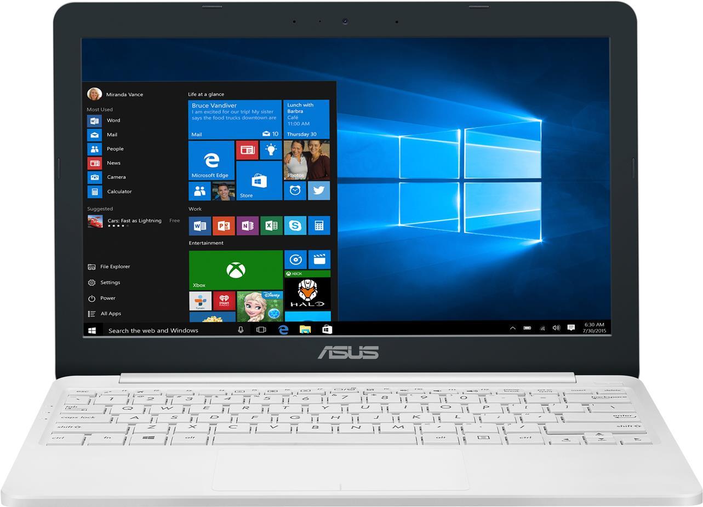 Notebooks, Laptops - ASUS VivoBook E203NA FD087T 1.1GHz N3350 11.6' 1366 x 768Pixel Weiß Notebook (90NB0EZ1 M05970)  - Onlineshop JACOB Elektronik