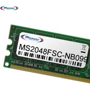 MemorySolution - DDR3 - 2 GB - SO DIMM 204-PIN - 1333 MHz / PC3-10600 - ungepuffert - nicht-ECC - für Fujitsu LIFEBOOK T731, T731 Security selection (S26361-F4407-E2)
