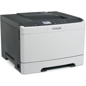 Drucker, Scanner - Lexmark CS410dn Drucker Farbe Duplex Laser A4 Legal 1200 x 1200 dpi bis zu 30 Seiten Min. (s w) bis zu 30 Seiten Min. (Farbe) Kapazität 250 Blätter USB 2.0, LAN, USB Host mit 4 years Initial Guarantee  - Onlineshop JACOB Elektronik